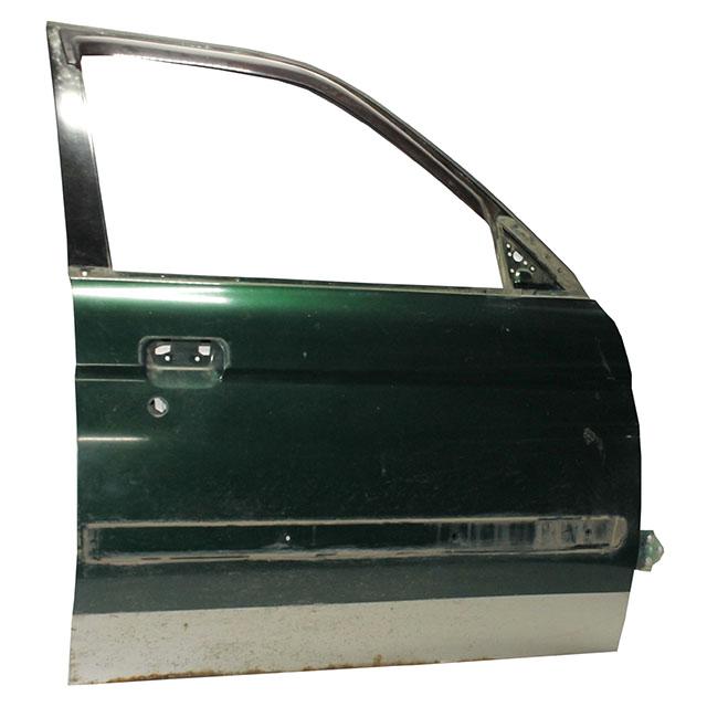 Дверь передняя правая зеленая (Б/У) для MITSUBISHI PAJERO / MONTERO SPORT