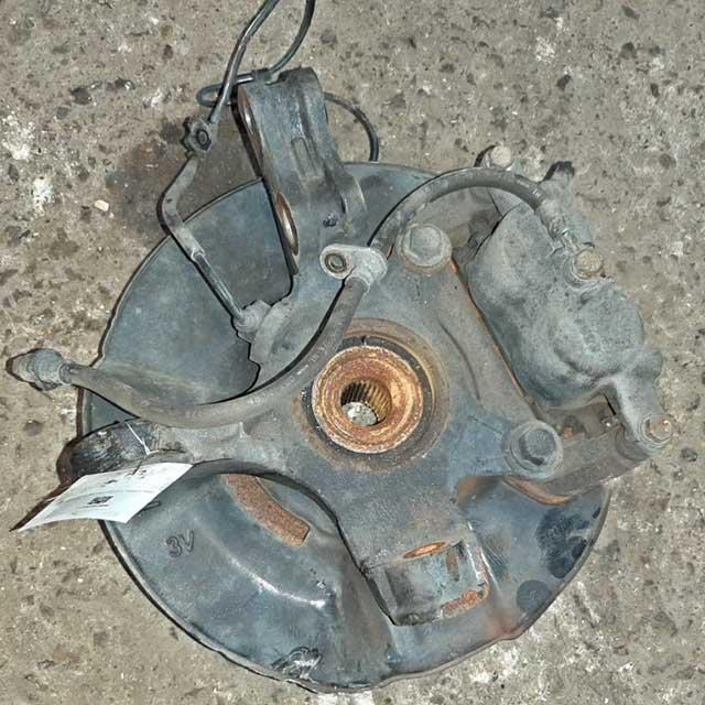 Кулак поворотный левый в сборе со ступицей, диск, суппорт, датчик ABS 4WD  51216S3VJ00_BU