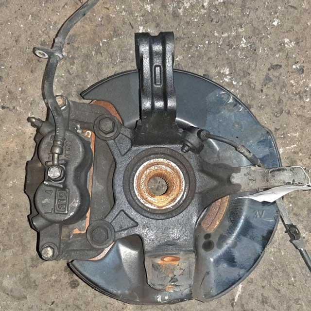 Кулак поворотный правый в сборе со ступицей, диск, суппорт, датчик ABS 4WD  51211S3VJ00_BU