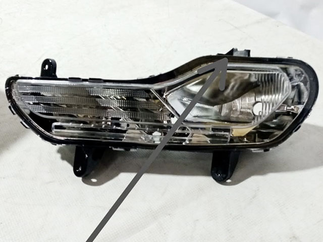Фара противотуманная (ПТФ) левая под 3 лампы Уценка 30% (сломано крепление) (уценка) для FORD KUGA II DM2 2013-2019