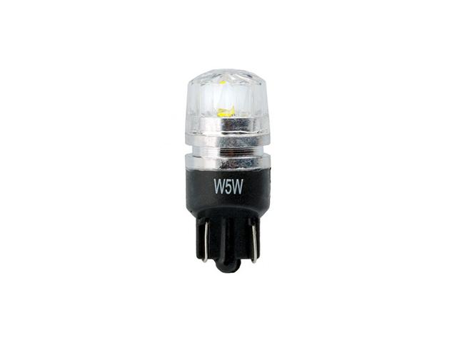 Лампа светодиодная 12V 5W W5W T10 1SMDW2.1x9.5d конус зеленый